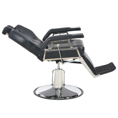 vidaXL Kirpėjo kėdė, juoda, 72x68x98 cm, dirbtinė oda[7/11]