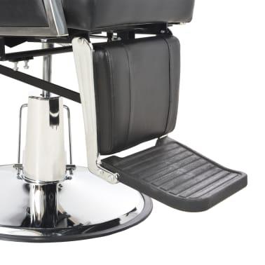 vidaXL Kirpėjo kėdė, juoda, 72x68x98 cm, dirbtinė oda[9/11]