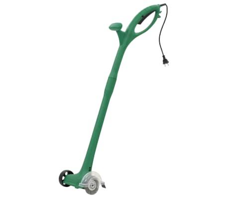 vidaXL Електрически уред за плевене, 140 W, зелен