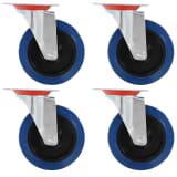 vidaXL Roulettes pivotantes 4 pcs 125 mm