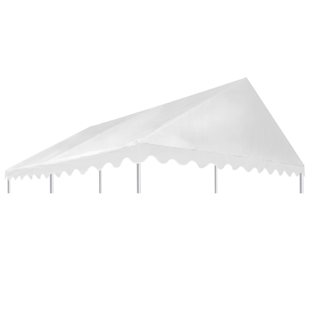 vidaXL Acoperiș pentru pavilion, alb, 3 x 4 m, PVC, 500 g / m² vidaxl.ro