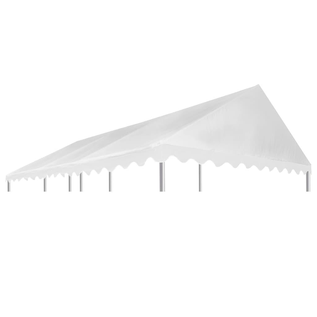 vidaXL Acoperiș pentru pavilion, alb, 3x6 m, PVC, 500 g / m² poza 2021 vidaXL