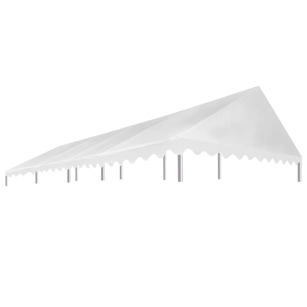 vidaXL Acoperiș pentru cort de petrecere, alb, 4 x 8 m, 450 g / m² vidaxl.ro