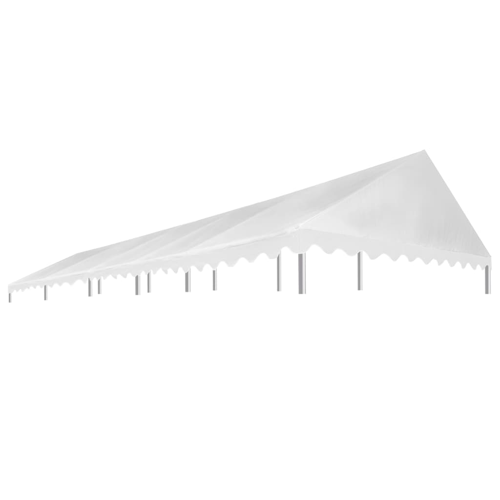 vidaXL Acoperiș pentru cort de petrecere, alb, 5 x 10 m, 450 g / m² vidaxl.ro