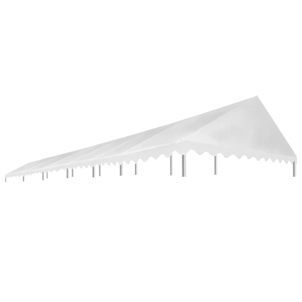 vidaXL Acoperiș pentru cort de petrecere, alb, 6 x 12 m, 450 g / m² poza 2021 vidaXL