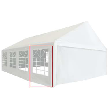 vidaXL Panneau latéral de tente de réception PVC 2x2 m Blanc 550 g/m²[2/5]