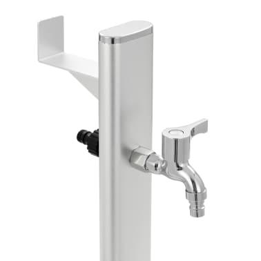 vidaXL Colonne à eau de jardin Aluminium 95 cm[5/8]
