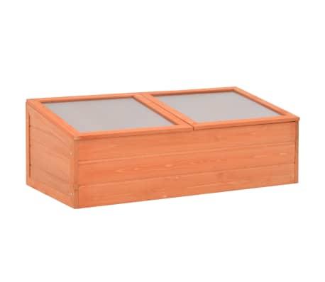 vidaXL Skleník 100 x 50 x 34 cm dřevo