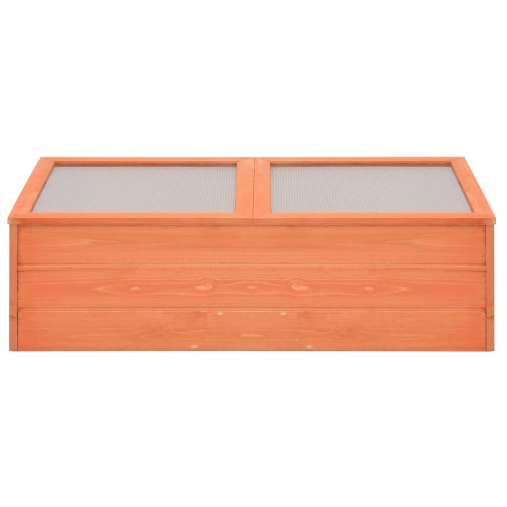 vidaXL Broeikas 100x50x34 cm hout