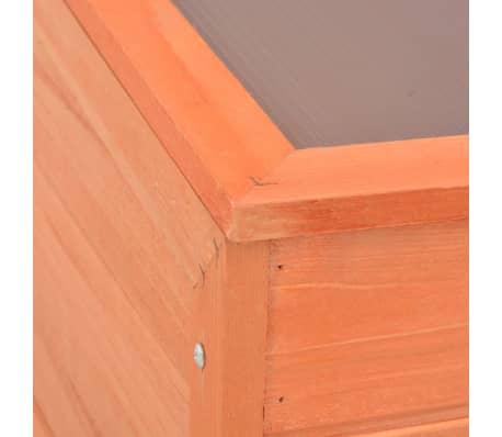 vidaXL Gewächshaus Holz 100 x 50 x 34 cm[9/10]