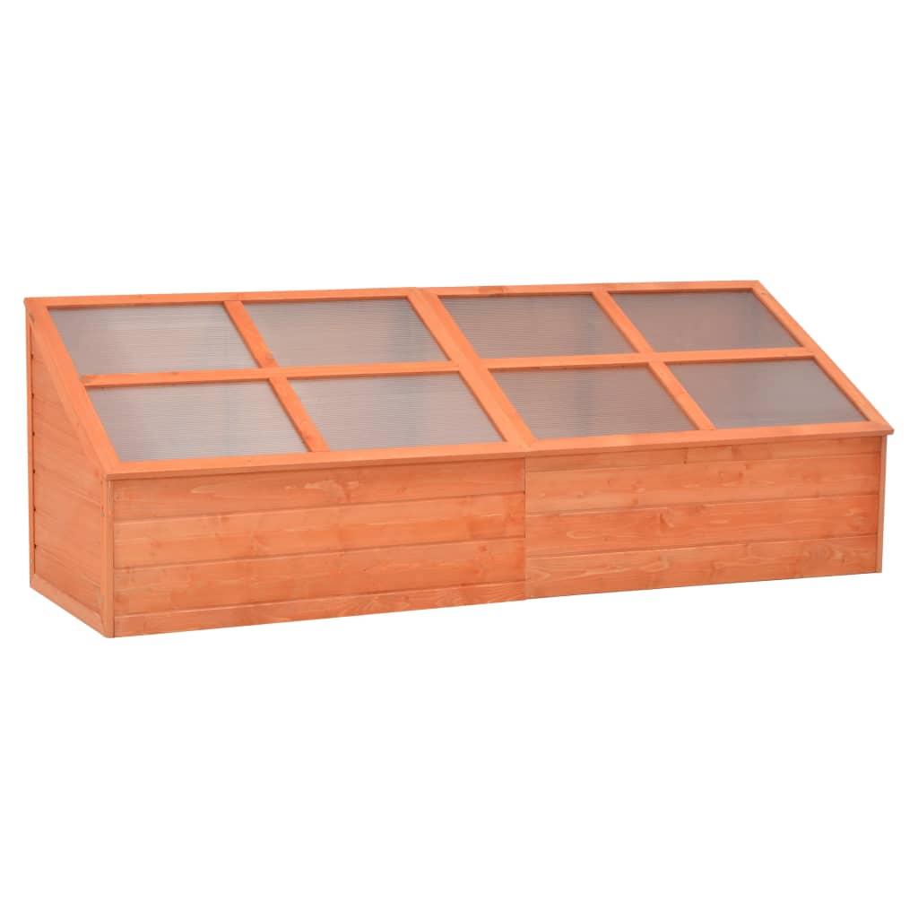 Skleník 180 x 57 x 62 cm dřevo