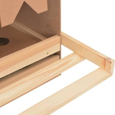 vidaXL Cuibar găini cu 3 compartimente, 72x33x38 cm, lemn masiv pin[9/9]