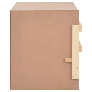vidaXL Cuibar găini cu 4 compartimente, 106x40x45 cm, lemn masiv pin[6/9]