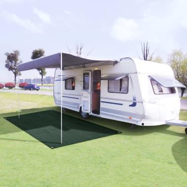 vidaXL Tent Carpet 250x300 cm HDPE Green[1/7]