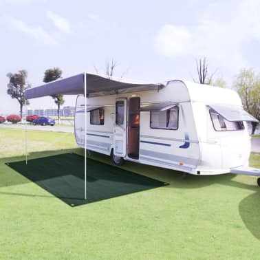 vidaXL Tent Carpet 300x500 cm HDPE Green[1/7]