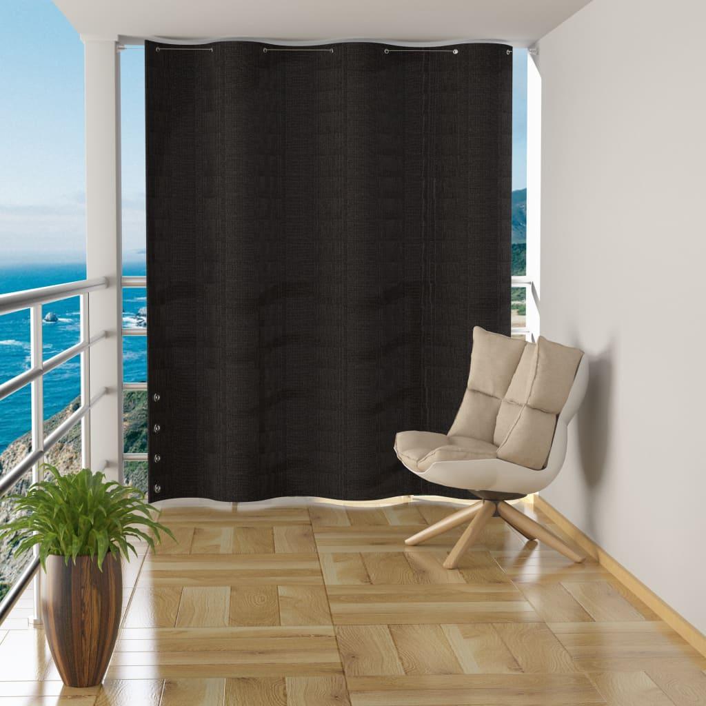 vidaXL Závěsná balkonová zástěna antracitová HDPE 140 x 230 cm