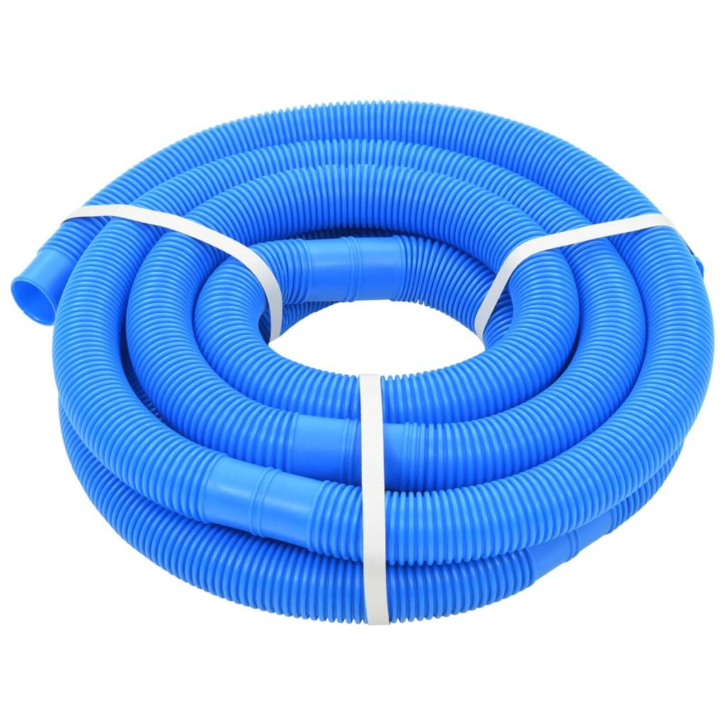 vidaXL Furtun de piscină, albastru, 38 mm, 6 m poza vidaxl.ro
