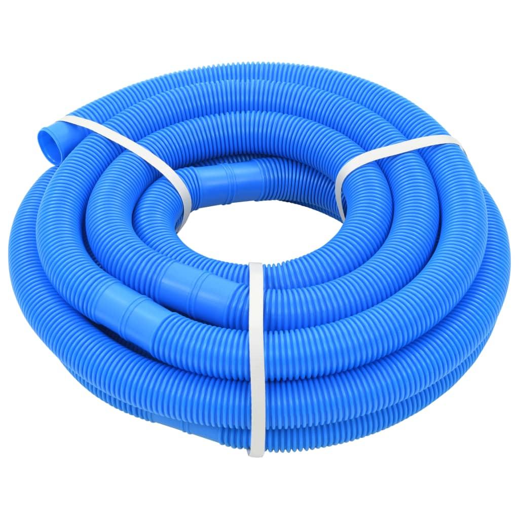 vidaXL Furtun de piscină, albastru, 38 mm, 9 m poza vidaxl.ro