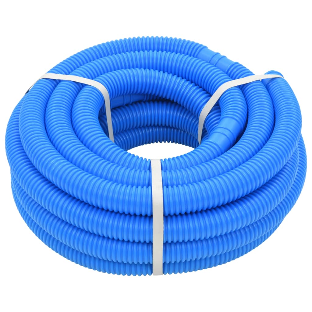 vidaXL Furtun de piscină, albastru, 38 mm, 12 m poza vidaxl.ro