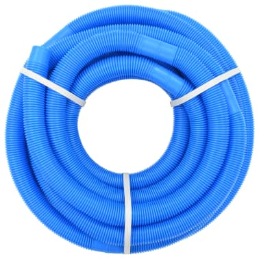 "vidaXL Pool Hose Blue 1.4"" 49.2"