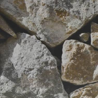 vidaXL PVC Fence Strip Roll 70x0.19 m Stone[4/4]