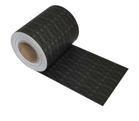 vidaXL PVC Fence Strip Roll 70x0.19 m Rattan[2/4]