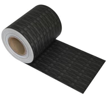 vidaXL Schuttingstrook rattanontwerp 70x0,19 m PVC[2/4]