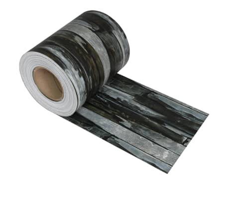 vidaXL Schuttingstrook steenontwerp 70x0,19 m PVC[2/4]