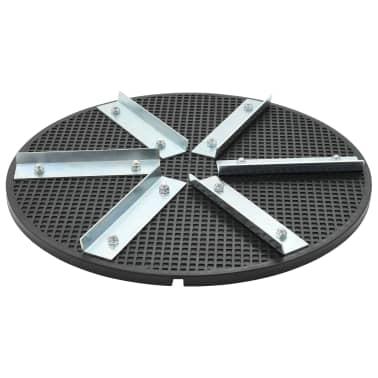 vidaXL Plaque de maintien Plastique Fer 39 cm[1/4]