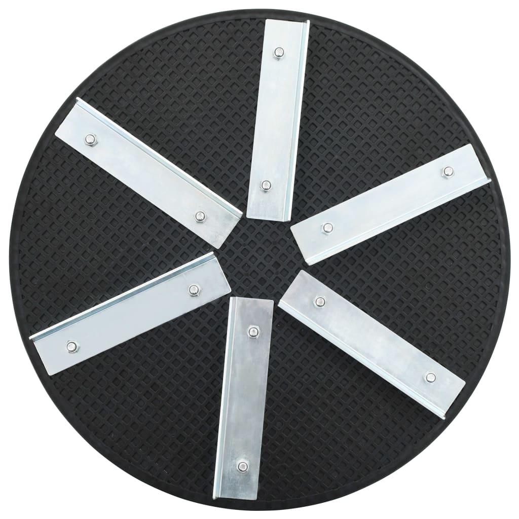 vidaXL Hladící talíř plastový železný 39 cm
