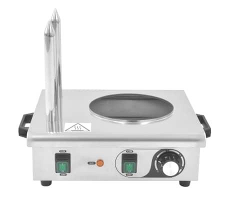 vidaXL Pølsevarmer med 2 stenger rustfritt stål 500 W[5/7]