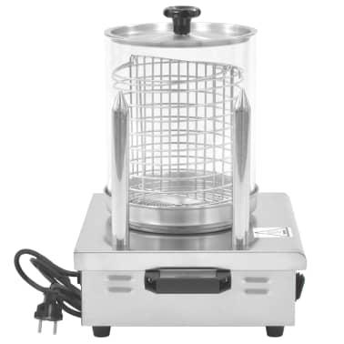 vidaXL Pølsevarmer med 2 stenger rustfritt stål 500 W[4/7]