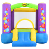 Happy Hop Inflatable Bouncer with Slide 260x210x160 cm PVC