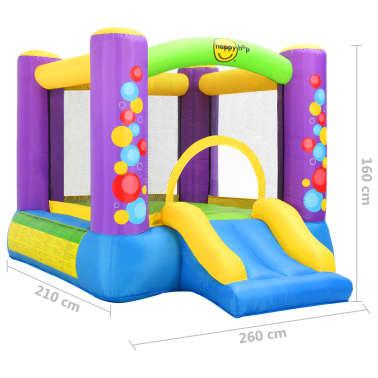Happy Hop Castillo hinchable con tobogán 260x210x160 cm PVC[4/4]
