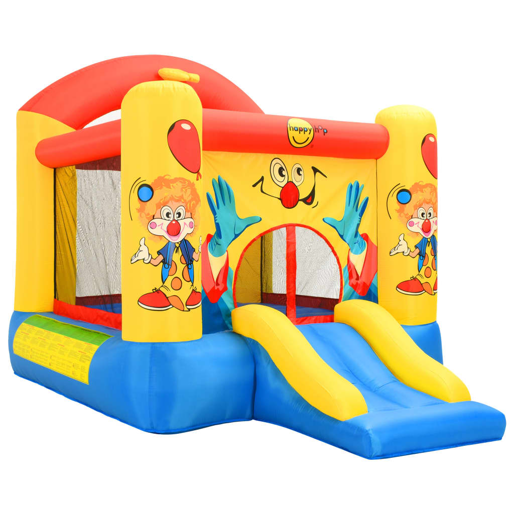 Happy Hop Jucărie gonflabilă cu tobogan, 330 x 230 x 230 cm, PVC vidaxl.ro