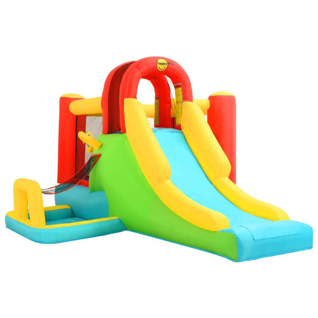 Happy Hop Jucărie gonflabilă cu tobogan, 400x295x200 cm, PVC vidaxl.ro
