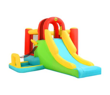 Happy Hop Jucărie gonflabilă cu tobogan, 400x295x200 cm, PVC