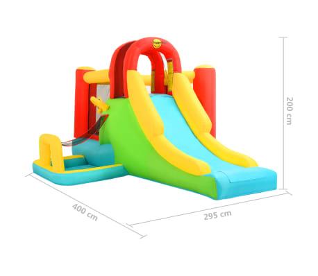 Happy Hop Castillo hinchable con tobogán 400x295x200 cm PVC[4/4]
