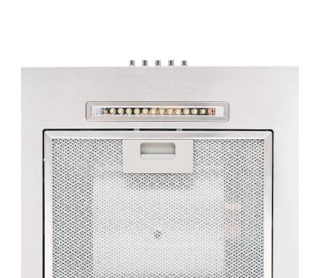 vidaXL Ensemble d'armoires de cuisine 8 pcs avec hotte Blanc brillant[7/9]