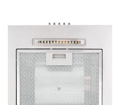 vidaXL Ensemble d'armoires de cuisine 7 pcs avec hotte Blanc brillant[7/9]
