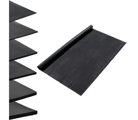 vidaXL Halkfri matta 1,2x5 m 1 mm jämn