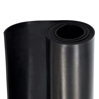 vidaXL Alfombrilla de goma antideslizante 1,2x2 m 4 mm lisa[6/7]