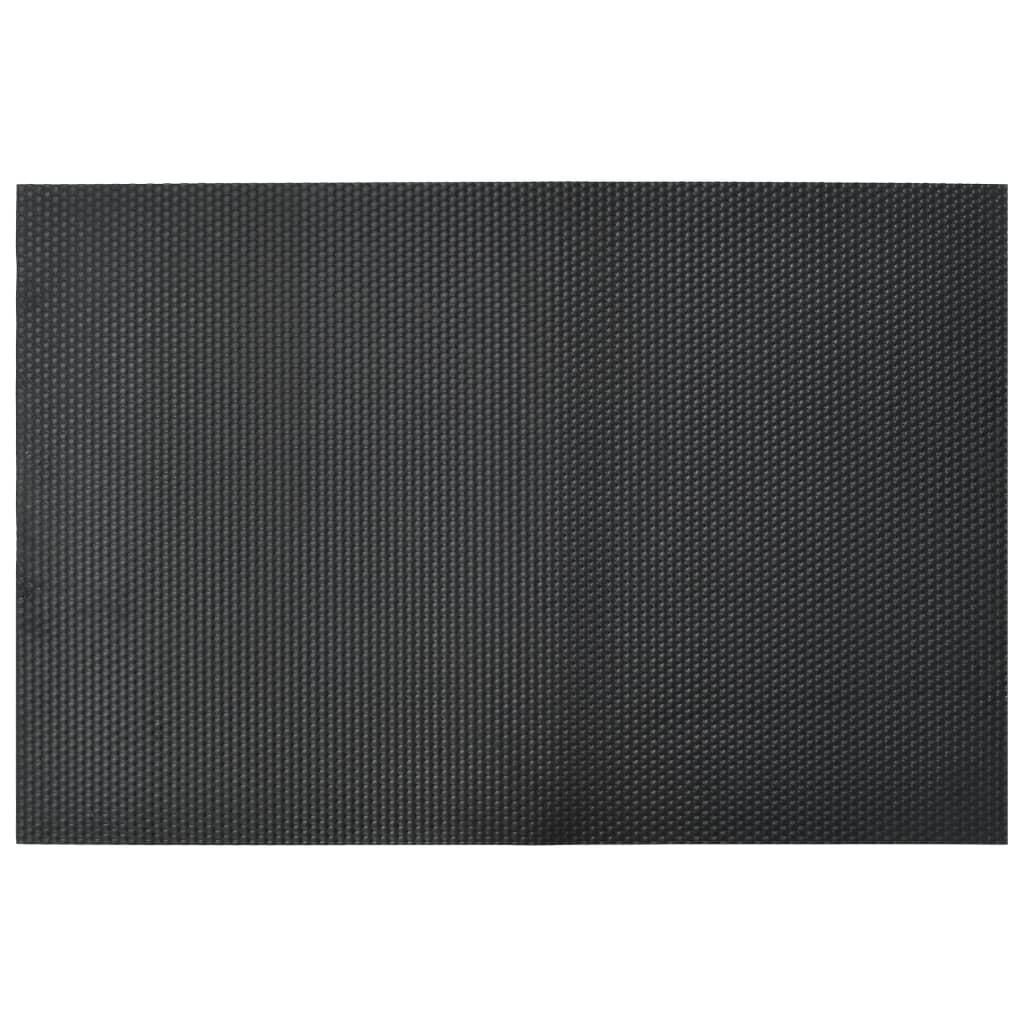 vidaXL Bodenmatte Rutschfest 1,2x0,8m 12mm Kieselmuster Gummimatte Bodenbelag