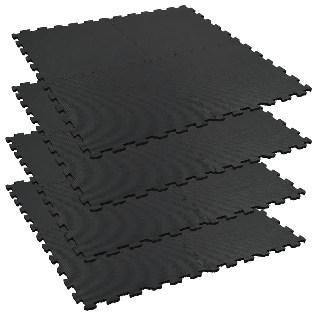 vidaXL Covorașe interconectate cai 4 buc. 60x60cm cauciuc 12mm hexagon vidaxl.ro