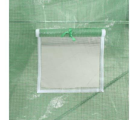 vidaXL Rastlinjak z jeklenim ogrodjem 9m² 300x300x200 cm[10/13]