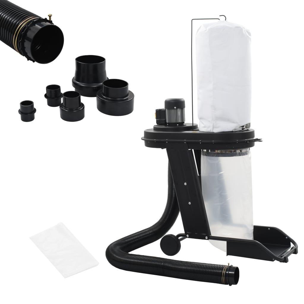 Odsavač prachu s adaptérem černý 550 W