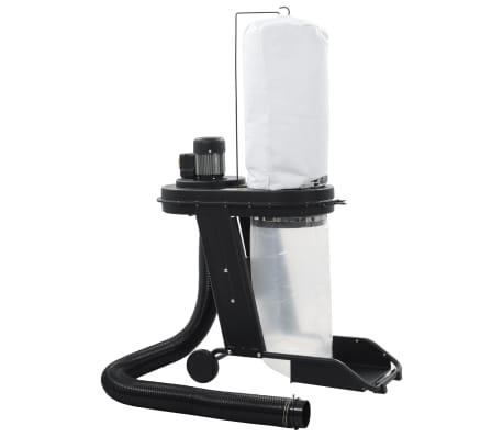 vidaXL Conjunto coletor de pó com adaptador preto 550W[2/9]