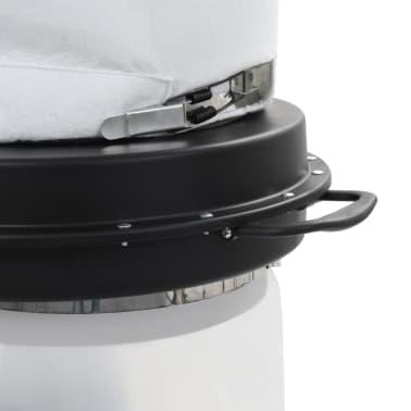 vidaXL Conjunto coletor de pó com adaptador preto 550W[5/9]
