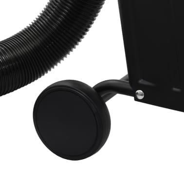 vidaXL Conjunto coletor de pó com adaptador preto 550W[7/9]