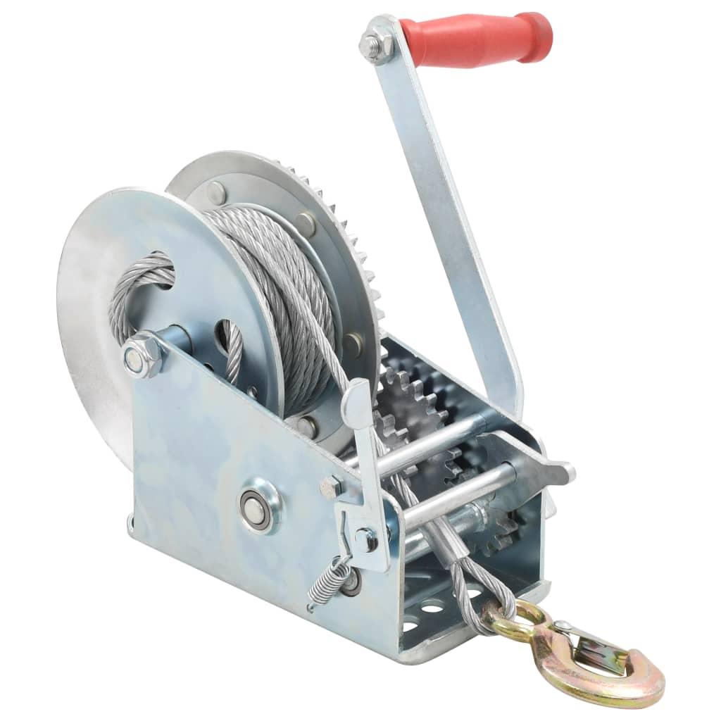 vidaXL Troliu manual, 1360 kg imagine vidaxl.ro